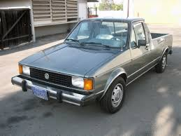 Diesel Power : 1981 Volkswagen Rabbit Pickup LX