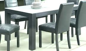 Grey Kitchen Table High Gloss Dining Chairs And White Centerpieces