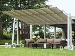 Adjustable Rectangular Garden Umbrella FLEXY XL By FIM