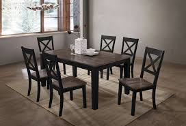 A La Carte Rectangular Dining Room Set (Black/ Cashew) Dorel Living Andover Faux Marble Counter Height 5 Pc Ding Set Denmark Side Chair Designmaster Fniture Ava Sectional Cashew Hyde Park Valencia Rectangular Extending Table Of 4 Button Back Chairs Room Big Sandy Superstore Oh Ky Wv Hampton Bay Oak Heights Motion Metal Outdoor Patio With Cushions 2pack Sofa Usb Charging Ports Intercon Nantucket Transitional 7 Piece A La Carte And Liberty