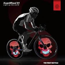 Upgraded Bike Wheel Lights LED Bicycle Spoke Light USB
