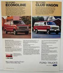 100 1982 Ford Truck S Sales Folder Bronco Courier F150 Econoline Club Wagon
