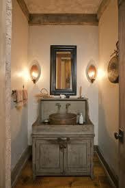 Bathroom Small Rustic Ideas Of Brown Ceramic Decorating Wall Larga Size