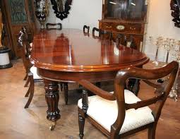 Classic Dining Room Furniture Sets Mahogany Solid Table And