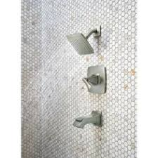 Delta Silverton Faucet Brushed Nickel by Delta Silverton Single Handle 1 Spray Tub And Shower Faucet In