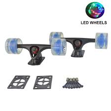 1 Pair Longboard Skateboard Durable Magnesium Alloy Trucks Combo ... Natural Twintip 41 Longboard Cruiser Skateboard By Ridge With Drop Rkp Green Longboard Trucks Wheels Package 62mm X 515mm 83a 012 C Tandem Axle Double Wheeled Kit Set For Skateboard Truck Angle Truckswheels Not Included View Large Whlist Response Combo Truckwheels Tensor W82 41x1022mhodsuraidocnfxyelwlongboardcomplete The 88 Hoverboard Under The Board Soft Wheels Sector 9 Offshore 395 Bamboo Complete Black Trucks Rtless Shop Longboards And Online Concave Pin 2011 Slipstream Lush Skindog Nosider Freeride 42