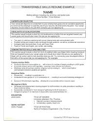 Sample Skills Section Of Resume Examples In For
