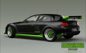 Mazda RX8 RAbump mod render 1 by RJamp on DeviantArt