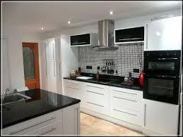 White Gloss Kitchen Design Ideas by 100 Kitchens B Q Designs Cabinet Black Sparkle Kitchen
