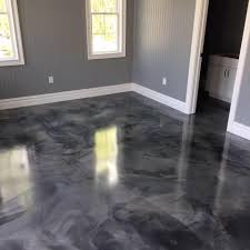 3D Metallic Epoxy Flooring