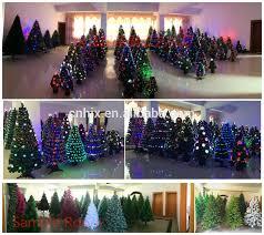 Mini Fibre Optic Christmas Tree by 150cm Wrapped Fibre Optic Led Christmas Tree Green Ornament