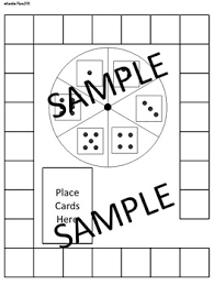 Pre Made Blank Board Game Templates