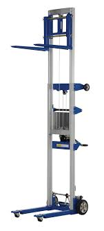 Vestil A-LIFT-R-HP Fixed Straddle Hand Winch Lift Truck, 35
