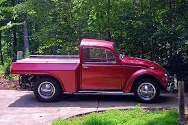 Can't Help But Love This 1967 VW Beetle Pickup Truck Conversion