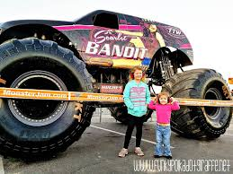 Funky Polkadot Giraffe: Monster Jam Returns To Angel Stadium Of ...