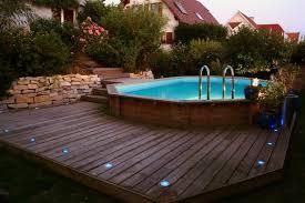 piscine de jardin creusée semi creusée ou hors sol backyard