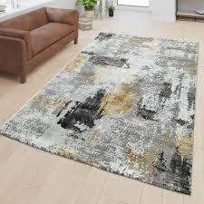 teppiche wohnzimmer teppich modernes abstraktes design 3d