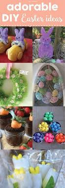 Adorable DIY Easter Ideas Crafts Gifts And Part For