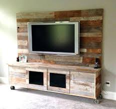 Entertainment Center Wall Shelves Cabinet Wood Pallets Stands