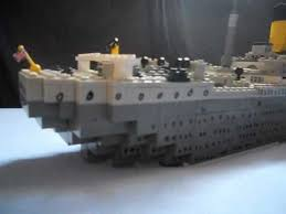 the lego titanic sinking movie music youtube