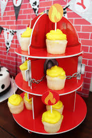 100 Fire Truck Cupcake Toppers Man Birthday Party Ideas Man Party Ideas Party