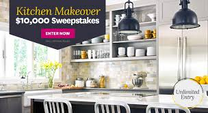 Better Homes & Gardens Kitchen Makeover $10 000 Sweepstakes