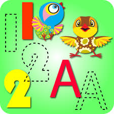 Preschool Kids ABC 123 Tracing And Coloring App