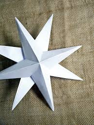 How To Make Christmas Paper Star Decorations