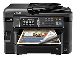 Amazon Epson WorkForce WF 3640 Wireless Color All In One Inkjet Printer With Scanner And Copier E Commerce Packaging Electronics