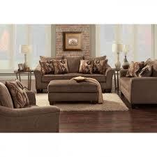 Camero Brown Sofa Loveseat