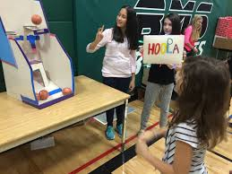 On December 16th The Bruce Gymnasium Was Filled With Cardboardcardboard Arcade Games That Is Inspired By Imagination And Creativity Of A Young Boy