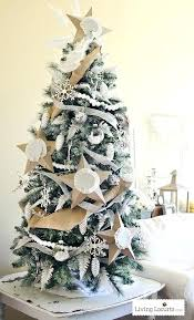 Painted Artificial Tree Dream Challenge White By Tall Skinny Christmas Trees Canada