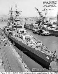 world war ii in pictures last voyage of the uss indianapolis