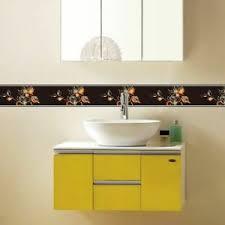 details zu pvc selbstklebend wand aufkleber bordüre küche badezimmer sockelleiste line