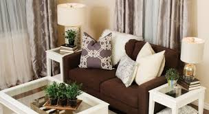Living Room Curtain Ideas Beige Furniture by Curtains Intrigue Beige And Grey Striped Curtains Commendable
