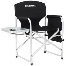 Amazon.com: FUNDANGO Folding Directors Chair Full Back Aluminum ... Porta Brace Directors Chair Without Seat Lc30no Bh Photo Tall Camping World Gl Folding Heavy Duty Alinum Heavy Duty Outdoor Folding Chairs 28 Images Lawn Earth Gecko Wtable Snowys Outdoors Natural Gear With Side Table Creative Home Fniture Ideas Glitzhome 33h Outdoor Portable Lca Director Chair Harbour Camping Heavyduty Chairs X2 Easygazebos Duratech Horse Tack Equipoint