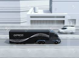 Side View Of Black Self-driving Electric Semi Truck And Minivan ... What Green Tech Best Suits Pickup Trucks In 2030 Twitter Poll Results Minivan Crashes Into Dtown Truck Elevator Shaft Used Car Lot Near Me Elegant Longview Texas Suv Truck Toyota Hilux Minivan Automotive Pinterest Hilux Arended Causing It To Spin Before Julys Fatal Repossed And Towed As Child Sleeps Inside West Russian Trucks Extreme Cditions 6x6 Pulling Jacked Up Upcoming Cars 20 Which Is Better A Or A Pickup News Carscom Moving Day How Select The Right Transport Your Stuff