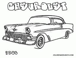 21 Chevy Coloring Pages