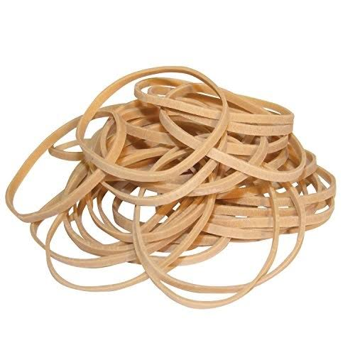 Whitecroft Essentials 25501 454g No 16 Rubber Band Natural | Stuff-uk.net