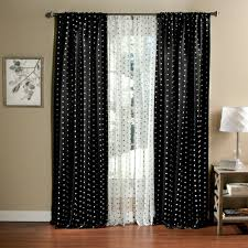 Car Window Curtains Walmart by Polka Dots Blackout Curtain Panel Set Of 2 Walmart Com