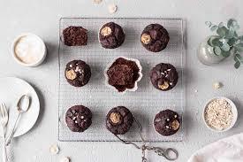 schoko bananen muffins ohne mehl glutenfrei vegan