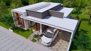 Modern Houseplans Modern House Plans 15x16 Meter 49x53 3 Beds House