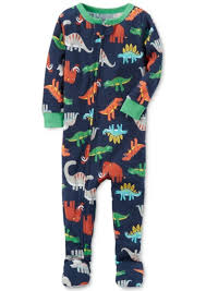 100 Monster Truck Pajamas Carters Carters 1Pc DinosaurPrint Footed Baby Boys 0