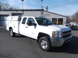 100 Cooley Commercial Trucks 11 CHEVROLET 2500HD EXTRA CAB UTILITY SERVICE BODY TRUCK