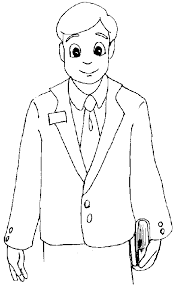 Coloring Pages Superb Lds Missionary Page