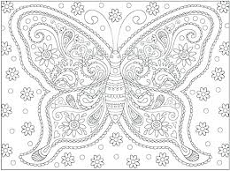 Swallowtail Butterfly Coloring Page Free Pages