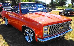 100 Convertible Chevy Truck 1975 Blazer Is A Rare In Beautiful Orange