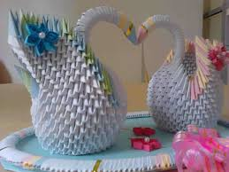 How To Make Handicraft Items At Home Paper Vase Very Easy Diy Craft