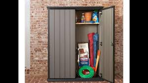 Keter Storage Shed Shelves by Keter High Store Shed Cabinet Youtube