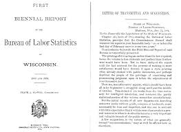 bureau of labor staistics dwd history 1883 1911 bureau of labor statistics
